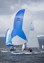 The third days racing at the  Silvers Marine Scottish Series 2015, organised by the  Clyde Cruising Club<br /> Based at Tarbert,  Loch Fyne from 22rd-24th May 2015<br /> <br /> GBR2496 , Valhalla of Ashton , Alan Dunnet , CCC , Swan 36<br /> <br /> <br /> Credit : Marc Turner / CCC<br /> For further information contact<br /> Iain Hurrel<br /> Mobile : 07766 116451<br /> Email : info@marine.blast.com<br /> <br /> For a full list of Silvers Marine Scottish Series sponsors visit http://www.clyde.org/scottish-series/sponsors/