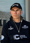 Putney. London,  Great Britain.<br /> Oxford Chief Coach, Sean BOWDEN at the pre race press conference.<br /> 2016 Tideway Week, Putney. Putney Embankment, Championship Course. River Thames.<br /> <br /> Friday  25/03/2016 <br /> <br /> [Mandatory Credit; Peter SPURRIER/Intersport-images]