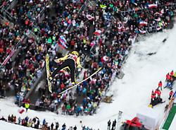 05.02.2017, Heini Klopfer Skiflugschanze, Oberstdorf, GER, FIS Weltcup Ski Sprung, Oberstdorf, Skifliegen, im Bild Noriaki Kasai (JPN) // Noriaki Kasai of Japan during mens FIS Ski Flying World Cup at the Heini Klopfer Skiflugschanze in Oberstdorf, Germany on 2017/02/05. EXPA Pictures © 2017, PhotoCredit: EXPA/ Peter Rinderer