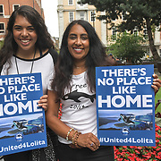 All women animals rights activists march to Liberation 4 Lolita and Hanna Testa is an British born Mauritius and an American citizen fighting for animal rights since she was 10 years old hosted by Until Lolita is Home and Activism For Life been captivity for over 49 years in central London.