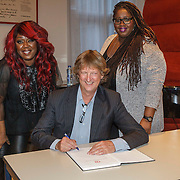 NLD/Amsterdam/201500303 - Lancering Berget Lewis & Shirma Rouse Foundation,