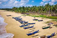 Sri Lanka, province de l'Est, Passikudah, plage de Kalkudah, vue aerienne // Sri Lanka, Ceylon, Eastern Province, East Coast, Passekudah, Kalkudah beach, aerial view