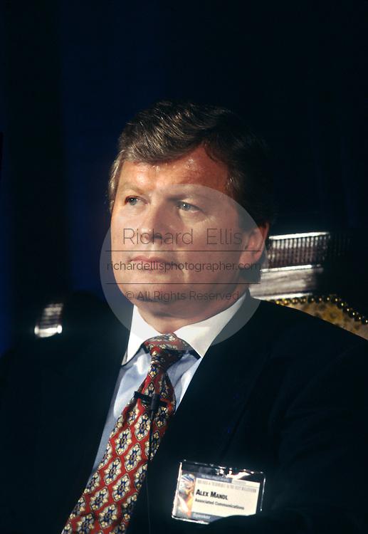 Alex Mandl, CEO of Teligent Communications June 4, 1997 in Washington, DC.