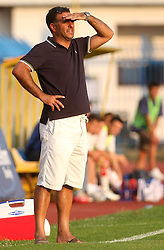 Coach of Koper Vlado Badzim  at 2nd Round of PrvaLiga Telekom Slovenije between NK Koper vs NK Hit Gorica, on July 26, 2008, in SRC Bonifika stadium in Koper. Gorica won the mach 3:1. (Photo by Vid Ponikvar / Sportal Images)