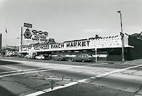 1976 Hollywood Ranch Market on Vine St.