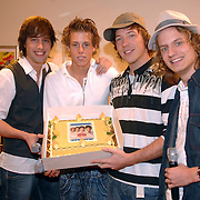NLD/Amsterdam/20061121 - Presentatie nieuwe cd single Topstars in het AMC Amsterdam, Xander de Buisonje
