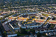 Nederland, Utrecht, Gemeente Amersfoort, 03-10-2010; huizen in de nieuwbouwwijk Nieuwland..Housing and house in the new district Nieuwland..luchtfoto (toeslag), aerial photo (additional fee required) foto/photo Siebe Swart