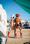 Fashion Police Burning Man. Black Rock Desert, Nevada. ©CiroCoelho.com. All Rights Reserved.