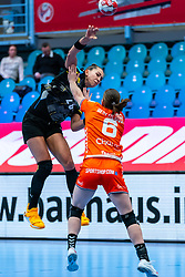 Emily Bolk of Germany, n6/ in action during the Women's EHF Euro 2020 match between Netherlands and Germany at Sydbank Arena on december 14, 2020 in Kolding, Denmark (Photo by RHF Agency/Ronald Hoogendoorn)