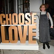 Juliet Stevenson arrives at Choose Love shop launch at Foubert's Place, Carnaby on 22 November 2018, London, UK.