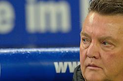 22.10.2010, Imtech Hamburg , GER, 1.FBL, Hamburger SV vs Bayern Muenchen im Bild Louis van Gaal  (Bayern Cheftrainer)    EXPA Pictures © 2010, PhotoCredit: EXPA/ nph/  Kokenge+++++ ATTENTION - OUT OF GER +++++