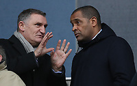 Football - 2016 / 2017 FA Cup - Third Round: Bolton Wanderers vs. Crystal Palace<br /> <br /> Tony Mowbray and Mark Bright  during the match at Macron Stadium.<br /> <br /> COLORSPORT/LYNNE CAMERON