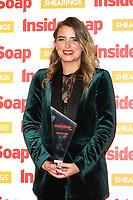 Emma Atkins, The Inside Soap Awards 2018, 100 Wardour Street, London, UK, 22 October 2018, Photo by Richard Goldschmidt
