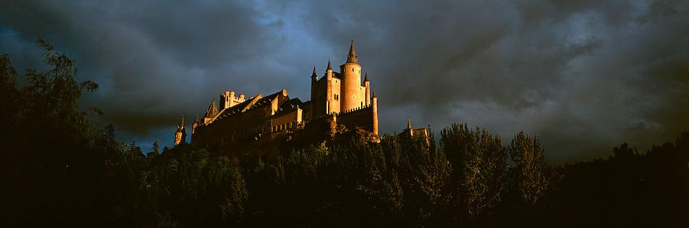 SPAIN, CASTILE, SEGOVIA Alcazar; Ferdinand and Isabella