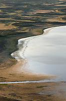 Warner Lakes Wetlands from Hart Mountain National Antelope Refuge Oregon
