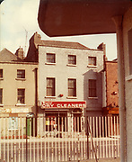 Old Dublin Amature Photos August 1983 WITH, Regans Pub, Behind Guinnesses, Canal, Four Seasons Pub, Bolton St, Henrietta Place, Dominic St, Tobacco Distributors Pearse St, James St, Grand Canal, Harolds St, Kevin St, The Orchard Kilmainham Irishtown, H.C. Capitol Dry Cleaners, Old amateur photos of Dublin streets churches, cars, lanes, roads, shops schools, hospitals