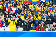 Colombia fan zone during the International Friendly Game football match between France and Colombia on march 23, 2018 at Stade de France in Saint-Denis, France - Photo Pierre Charlier / ProSportsImages / DPPI