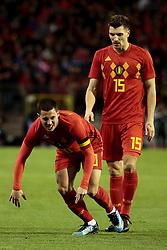 November 10, 2017 - Bruxelles, Belgique - Eden Hazard midfielder of Belgium and Thomas Meunier defender of Belgium (Credit Image: © Panoramic via ZUMA Press)