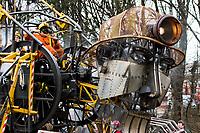 Man Engine Blaenavon Ironworks  8th April 2018