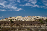 """Such unusual colors and shapes are the result of millions of years of erosion.<br /> Aktau (meaning """"White Mountain"""" in Kazakh) is also one of the largest palaeontology sites in the world. Some of the there discoveries were rhinos, crocodiles, and turtles that inhabited the area 30 million years ago."""