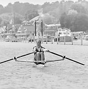 Henley on Thames, England, 1999 Henley Royal Regatta, River Thames, Henley Reach,  [© Peter Spurrier/Intersport Images], The Princess Royal Challenge Cup, GER W1X, Katrin RUTSCHOW-STOMPOROWSKI,