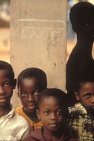 Children at a church in Kumasi, Ghana