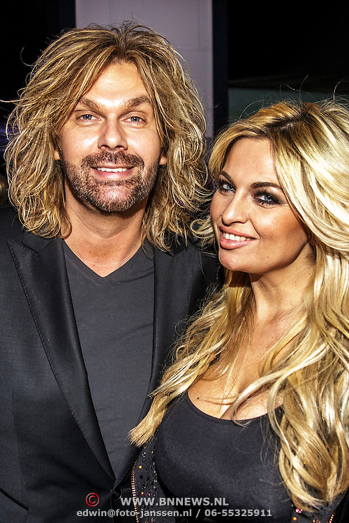 """NLD/Oostzaan/20150202 - Jennifer Hoeve """"Big Hair is an Addiction"""", Bobbi Eden en partner Mark Laurenz"""