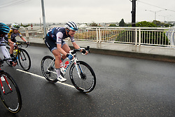 Tayler Wiles (USA) attacks from a small group in the final kilometres of the 2020 Cadel Evans Great Ocean Road Race - Deakin University Women's Race, a 121 km road race in Geelong, Australia on February 1, 2020. Photo by Sean Robinson/velofocus.com