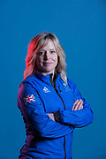 Jenny Jones Slopestyle bronze medalist in the 2014 Sochi Winter Olympics and GB Park and Pipe ambassador on 24th January 2018 in Stockport, United Kingdom.