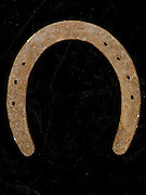 inside of a horseshoe
