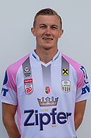 Download von www.picturedesk.com am 16.08.2019 (13:58). <br /> PASCHING, AUSTRIA - JULY 16: Thomas Goiginger of LASK during the team photo shooting - LASK at TGW Arena on July 16, 2019 in Pasching, Austria.190716_SEPA_19_029 - 20190716_PD12470
