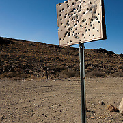 Wildnerness area near Barstow, California where there are culturally sensitive Native American rock art and artifacts.