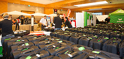 28.01.2014,  Marriott, Wien, AUT, Sochi 2014, Einkleidung OeOC, im Bild Feature // Feature during the outfitting of the Austrian National Olympic Committee for Sochi 2014 at the  Marriott in Vienna, Austria on 2014/01/28. EXPA Pictures © 2014, PhotoCredit: EXPA/ JFK