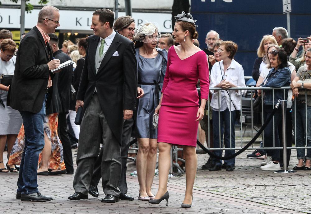 Hochzeit von Ernst August von Hannover Junior und Ekaterina Malysheva, Hannover, 08.07.2017<br /> <br /> (c) Torsten Helmke