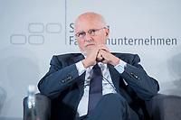 08 JUN 2018, BERLIN/GERMANY:<br /> Dirk Rossmann, Geschaeftsfuehrender Gesellschafter Dirk Rossmann GmbH, Tag des deutschen Familienunternehmens, Stiftung Familienunternehmen, Hotel Adlon<br /> IMAGE: 20180608-01-263