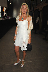 The HON.KIRSTY HAMILTON-SMITH daughter of Lord Colwyn at the Cartier Polo Players' Party in association with the Hurlingham Polo Association held at The Collection, London SW3 on 24th July 2007.<br /><br />NON EXCLUSIVE - WORLD RIGHTS