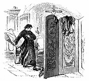 Priest whipping a penitent with a birch. From the Rev SM Cooper ''A History of the Rod', London, c1876. Engraving