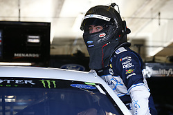 November 2, 2018 - Ft. Worth, Texas, United States of America - Ryan Blaney (12) hangs out in the garage during practice for the AAA Texas 500 at Texas Motor Speedway in Ft. Worth, Texas. (Credit Image: © Justin R. Noe Asp Inc/ASP via ZUMA Wire)