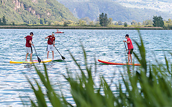 22.05.2017, Kalterer See, Kaltern, ITA, OESV, Nordische Kombinierer, Trainingskurs Kaltern, im Bild Mario Seidl, Bernhard Gruber, Franz Josef Rehrl // during a Trainingscamp of Austrian Nordic Combined Team at the Kalterer Lake, Kaltern, Italy on 2017/05/22. EXPA Pictures © 2017, PhotoCredit: EXPA/ JFK