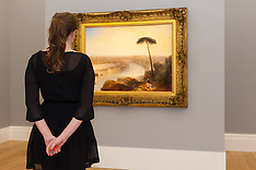 2014-11-28 Sotheby's preview of Turner and Canaletto paintings