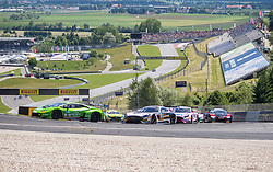 11.06.2017, Red Bull Ring, Spielberg, AUT, ADAC GT Masters, Spielberg, 2. Rennen, im Bild v.l.: Rolf Ineichen (SUI)/ Christian Engelhart (GER) GRT Grasser Racing Team, Patrick Assenhelmer (GER)/Maximilian Goetz (GER) Mercedes AMG Team HTP Motorsport // f.l.: Swiss ADAC GT Masters driver Rolf Ineichen/German ADAC GT Masters driver Christian Engelhart of GRT Grasser Racing Team German ADAC GT MAsters driver Patrick Assenheimer/German ADAC GT masters driver Maximilian Goetz of Mercedes AMG Team HTP Motorsport during the 2nd race of the ADAC GT Masters at the Red Bull Ring in Spielberg, Austria on 2017/06/11. EXPA Pictures © 2017, PhotoCredit: EXPA/ Dominik Angerer