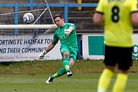 Ben Hinchliffe. Halifax Town FC 0-1 Stockport County FC. Vanarama National League. The Shay Stadium. 1.5.21