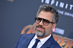 Mark Ruffalo attends the World Premiere of Avengers: Infinity War on April 23, 2018 in Los Angeles, Ca, USA. Photo by Lionel Hahn/ABACAPRESS.COM