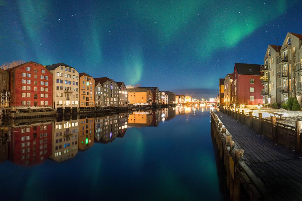 Trondheim, Norway. March 2021.