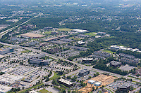 Airport Square Office Park aerial image in Baltimore Maryland by Jeffrey Sauers of Commercial Photographics, Architectural Photo Artistry in Washington DC, Virginia to Florida and PA to New England