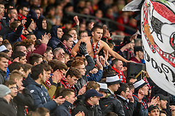 February 10, 2019 - Guingamp, France - Supporters de l equipe Guingamp - ambiance (Credit Image: © Panoramic via ZUMA Press)