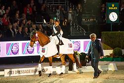 Werth Isabell, GER, Emilio<br /> The Dutch Masters<br /> Indoor Brabant - 's Hertogen bosch 2018<br /> © Hippo Foto - Dirk Caremans<br /> 10/03/2018