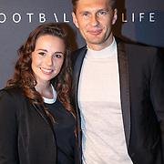 NLD/Amsterdam/20151110 - Life After Football Award 2015, Gwen van poorten en Evgeniy Levchenko
