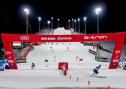 17.12.2018, Grand Risa, La Villa, ITA, FIS Weltcup Ski Alpin, im Bild Tommy Ford (USA), Matts Olsson (SWE) // Tommy Ford of the USA Matts Olsson of Sweden  during the FIS ski alpine world cup at the Grand Risa in La Villa, Italy on 2018/12/17. EXPA Pictures © 2018, PhotoCredit: EXPA/ Johann Groder