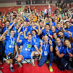 20151018: BUL, Volleyball - 2015 CEV Volleyball European Championship, Finals, France vs Slovenia